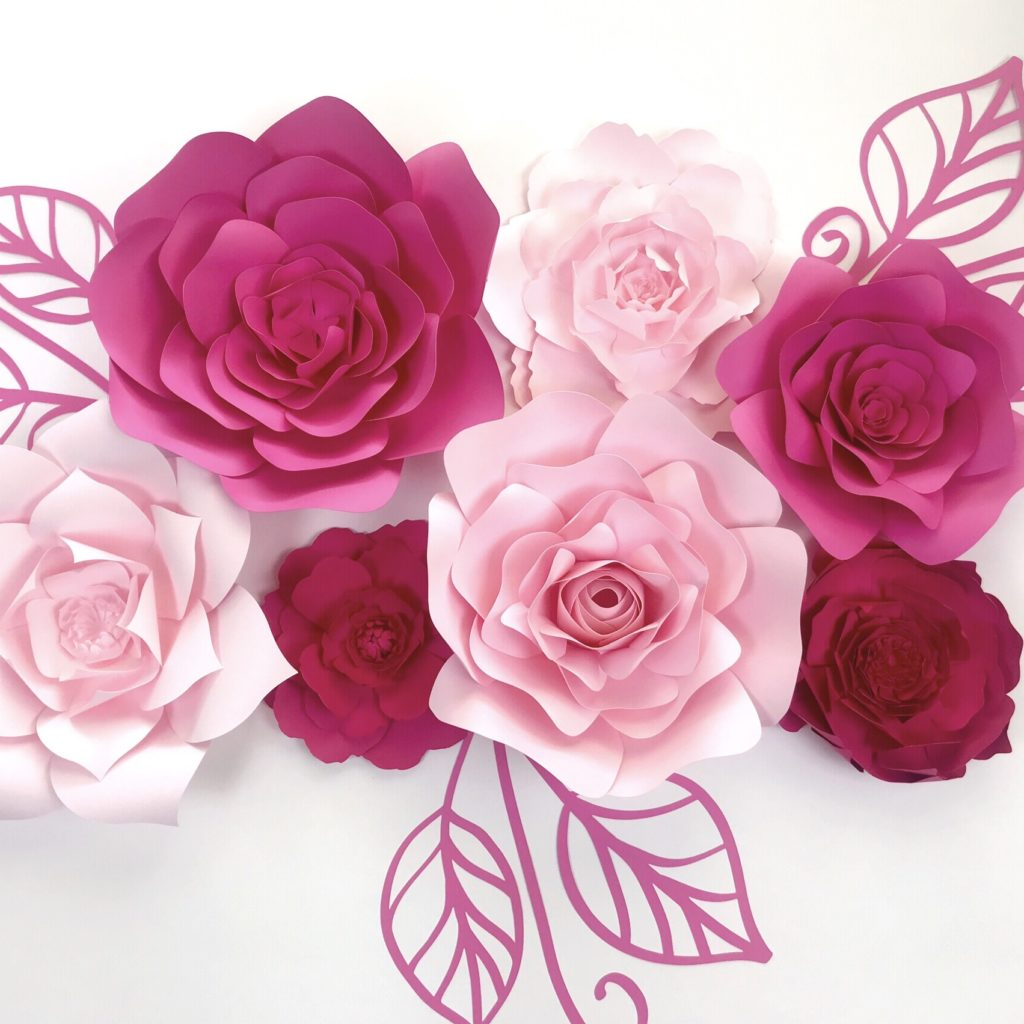Paperflora paper flower walls backdrops and home decor paper flower backdrop wedding decor paper flower save mightylinksfo