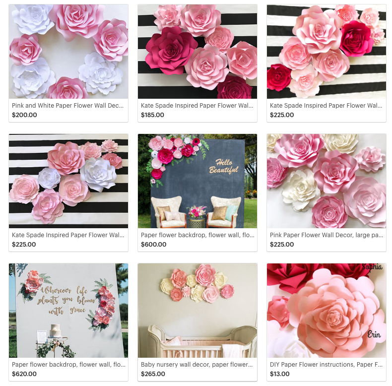 Paper flowers flower walls and backdrops for any ocassion paperflora paperflora shop for more information or to place an order mightylinksfo