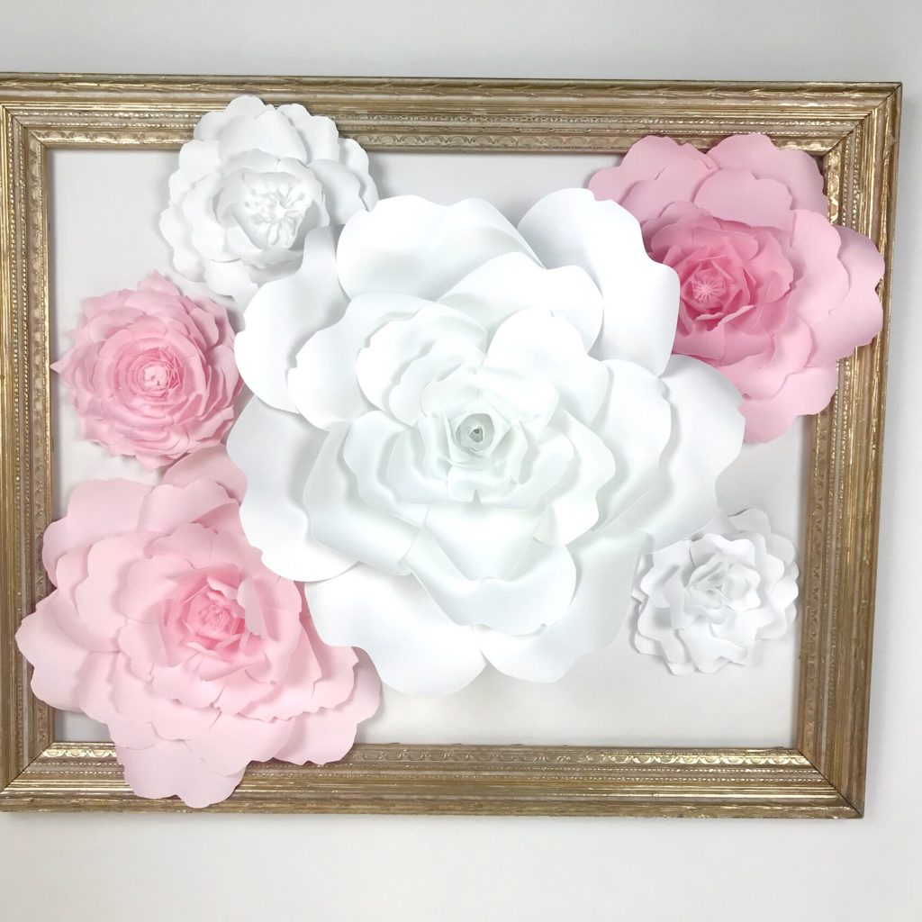 Paperflora paper flower walls backdrops and home decor paper flower save mightylinksfo