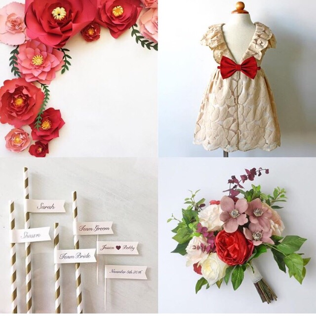 Etsy Wedding Team - PaperFlora