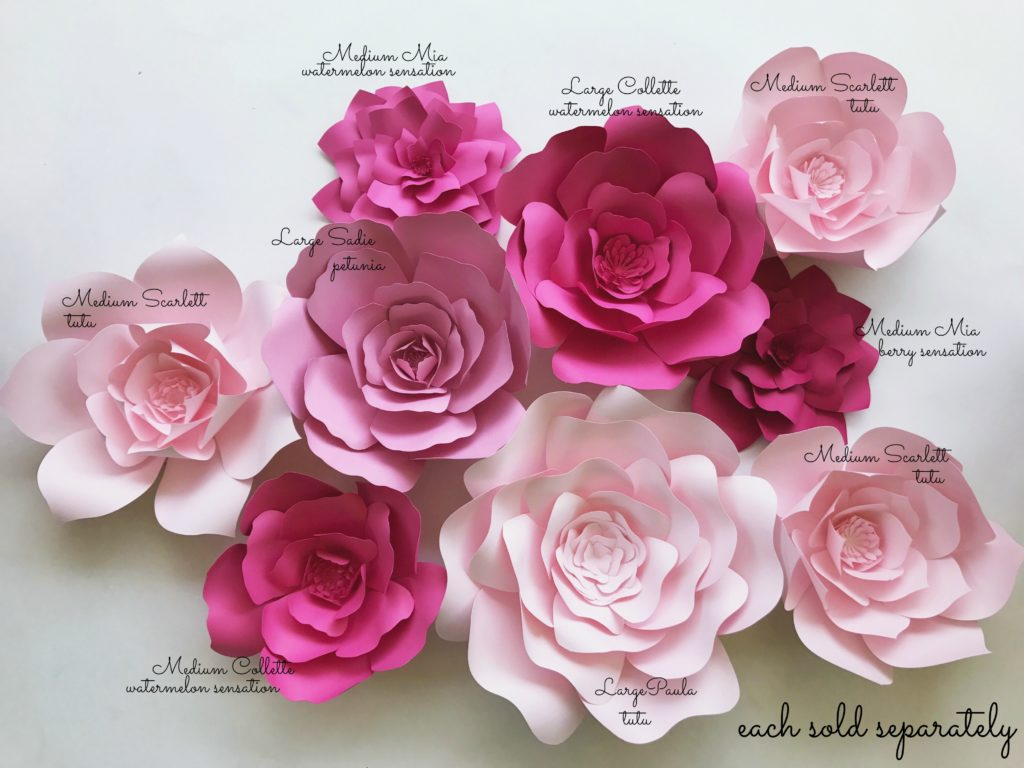 Paper flower kits paperflora new diy paper flower kits mightylinksfo
