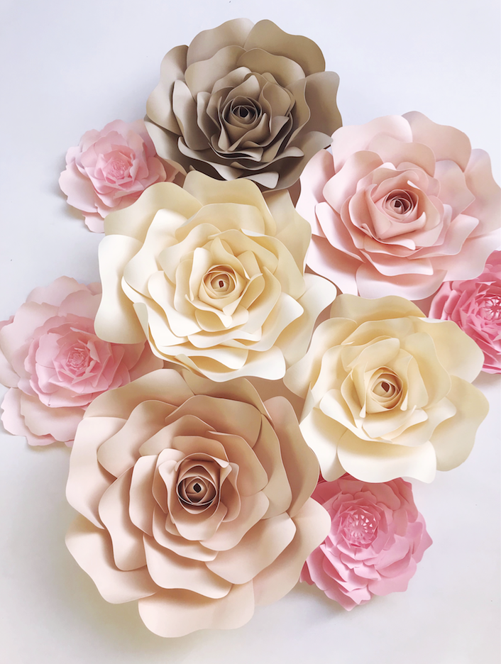 Large paper flowers diy templates and ready to ship paperflora each is a special order please allow enough time for the creation of these beauties you can find these and other styles and colors in the paperflora shop mightylinksfo