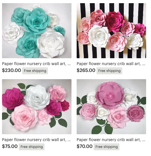 Large paper flowers diy templates and ready to ship paperflora screenshot 2018 10 02 150136g mightylinksfo